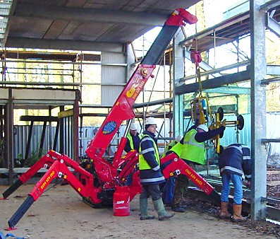 What makes a Mini Crawler Crane unique?