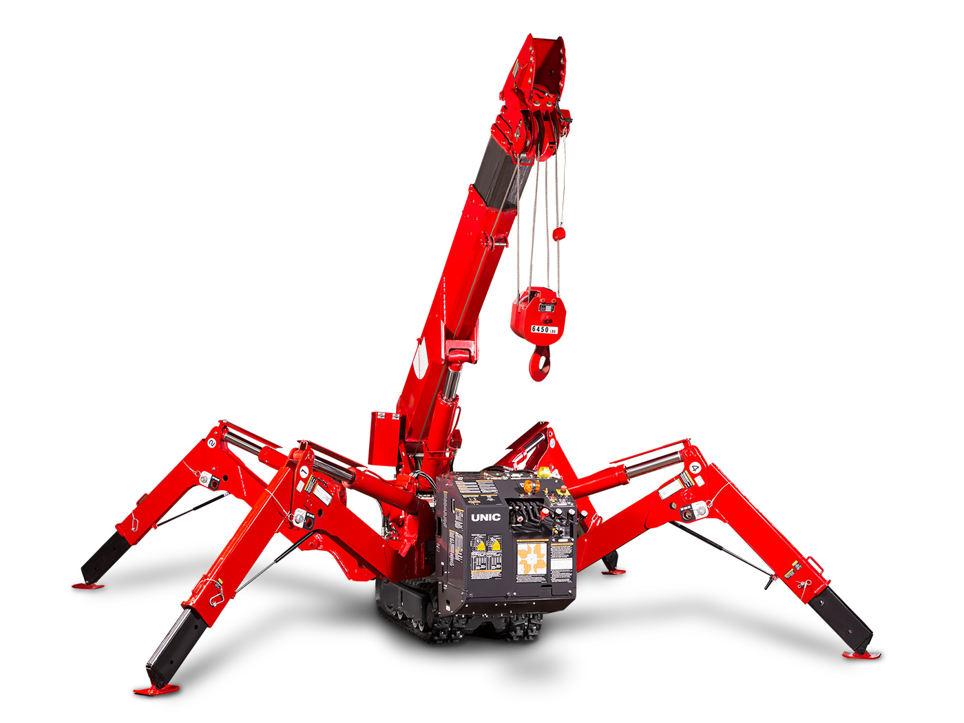 Spydercrane URW295 - Controls